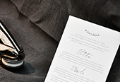 wedding invitation B&H
