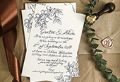 BLUE/COPPER WEDDING