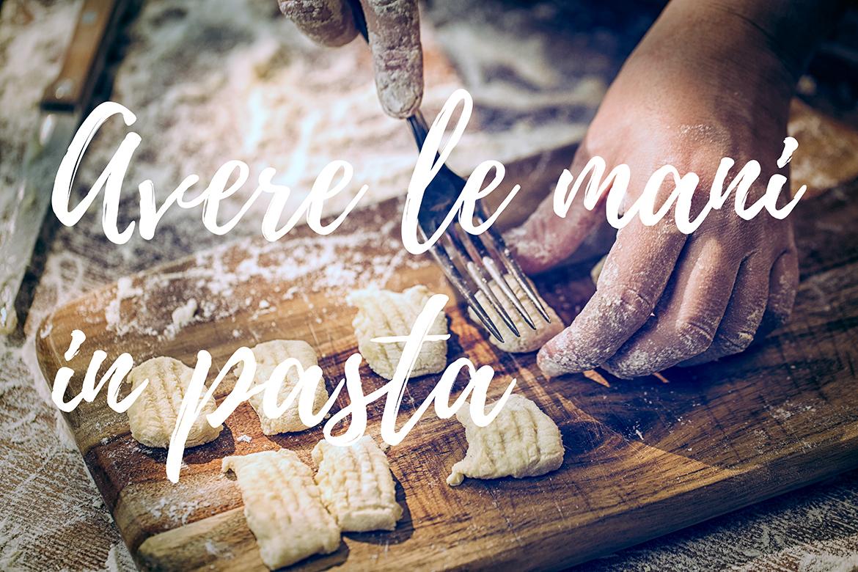 Preparing Fresh Homemade Gnocchi