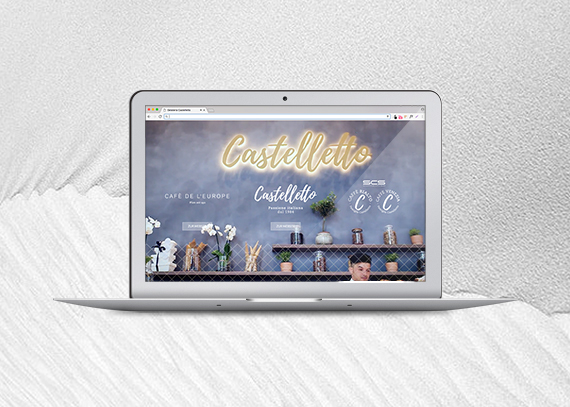Castelletto Webseite